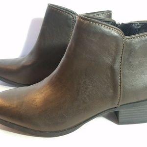 Simply Vera Vera Wang Ankle Boots Womens Sz 6 Zip